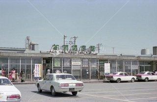 加賀温泉駅 北陸本線 昭和54年頃
