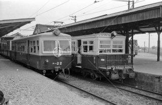 尾小屋鉄道 新小松駅 キハ1 1975年8