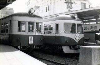 長野駅 長野電鉄 1500系 2000系 昭和53年 1978