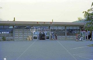 東海道本線 垂井駅 旧駅舎 昭和55 1980