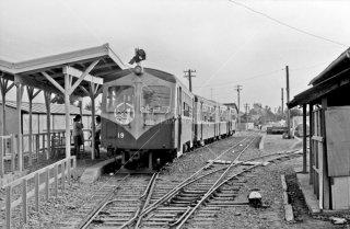 静岡鉄道 駿遠線 大井川駅 キハD19 1968年9月