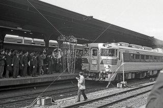 関西本線 名古屋 特急くろしお出発式 昭和40年 1965