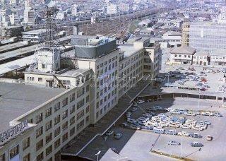 名古屋駅 旧駅舎 東海道本線 昭和42 1967
