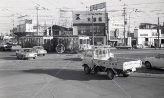 名古屋市東区泉 東片端交差点から南東を望む 昭和45年頃 戸田信治