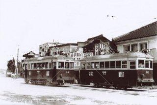 名鉄 岡崎市内線 昭和35 1960