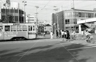 豊橋鉄道 豊橋市内線 駅前停留所 1976年10月