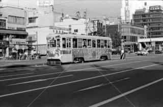 豊橋鉄道 豊橋市内線 駅前停留所 旧1976年10月