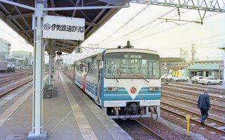 JR関西本線 四日市 伊勢鉄道 イセ�形 平成3 1991