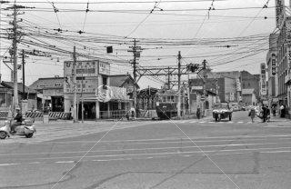 京阪電気鉄道 浜大津駅東口石山坂本線 1968年5月