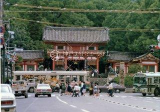 京都市電 八坂神社前