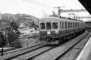京阪電鉄 旧五条駅 昭和54 1979 1000系1001