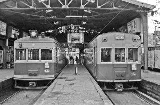 京福電鉄 嵐山線 四条大宮駅 1982年3月