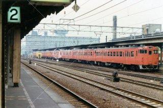 京都駅1番線 昭和53 1978.9
