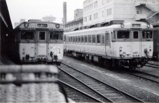 京都駅 山陰線丹後1号昭和53 1978.9