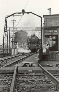 国鉄 梅小路蒸気機関車館 機関区 C622 2 昭和533年 1978年