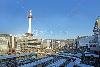 京都駅よりバスターミナル 京都タワー