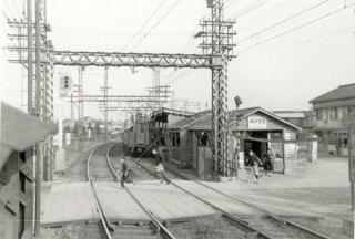 阪神神戸方面駅 昭和30年代