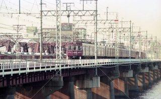 阪急電鉄 中津-十三 2300系 平成3年 1991