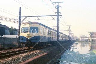 国鉄阪和線 鶴が丘→南田辺 旧線 昭和51 1976