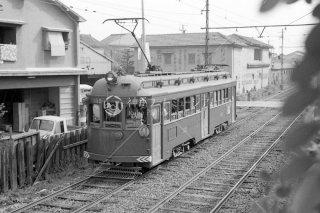 南海電鉄大阪軌道線 天王寺駅前-住吉公園 1950年代