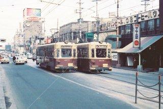 大阪市電 阪急東口 昭和44 1969