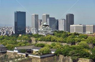 大阪城 遠望