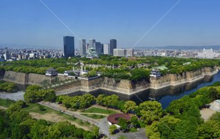 大阪城全景