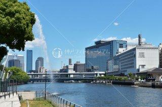 OMM 天満橋 京阪シティモール 剣先公園の噴水