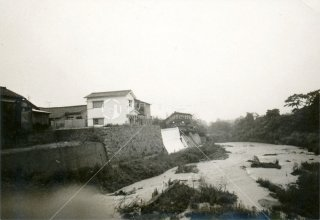 垂水福田川 台風
