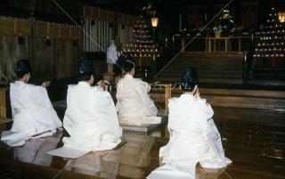 海神社夏祭礼祭 玉串奉奠 平成元年七月十一日