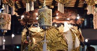 海神社秋祭 東高丸布団太鼓 平成28