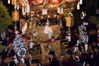 海神社秋祭 東垂水布団太鼓練り合わせ 垂水漁港前 平成28