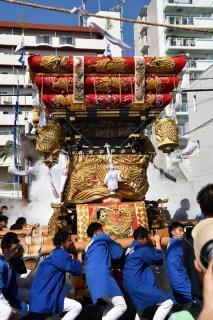 海神社秋祭 西垂水布団太鼓 倉出 平成29