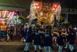 海神社秋祭 東高丸布団太鼓 イオンジェームス山 平成30年