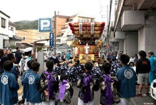 海神社秋祭 塩屋布団太鼓 平成30年