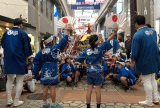 海神社秋祭 子供神輿 垂水センター街 平成30年