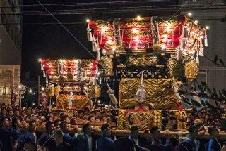 海神社秋祭 西垂水 塩屋布団太鼓 平成30年