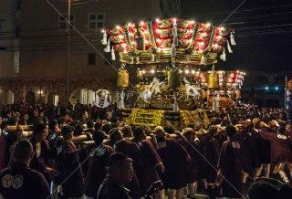 海神社秋祭 東垂水 塩屋布団太鼓 平成30年