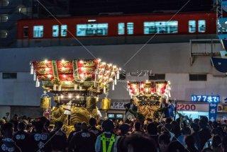 海神社秋祭 西垂水 東垂水布団太鼓 レバンテ広場 山陽電車 平成30年