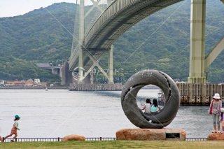 夢レンズ 明石海峡大橋