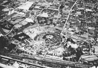 五色塚古墳 小壺古墳空中写真 1960以前