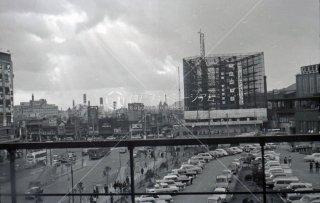 三ノ宮駅前 交通センタービル工事 昭和40 1965