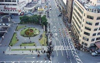 花時計フラワーロード 神戸まつり 昭和46 1971