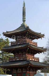 鶴林寺 三重塔