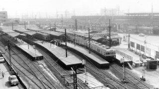 兵庫駅 昭和43年 1968