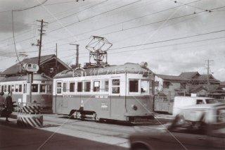 岡山軌道 東山駅 昭和39 1964