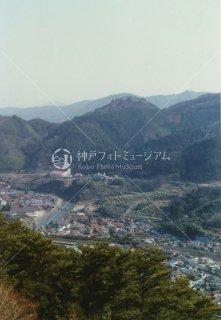 津和野城跡より 山口線 特急おき 昭和57年 1982