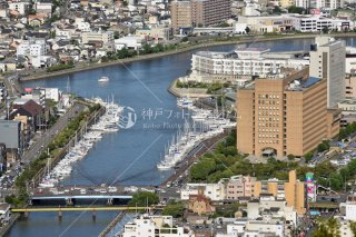 徳島県庁 沖洲川徳島ヨットクラブ 眉山より 平成29年