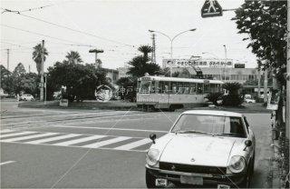 国鉄松山駅前 伊予鉄道 愛媛 昭和54年 1979