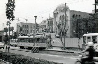 愛媛県庁前 伊予鉄道 松山 昭和54年 1979